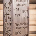 1. FCK Säule Modell Erfolge - Nahaufnahme