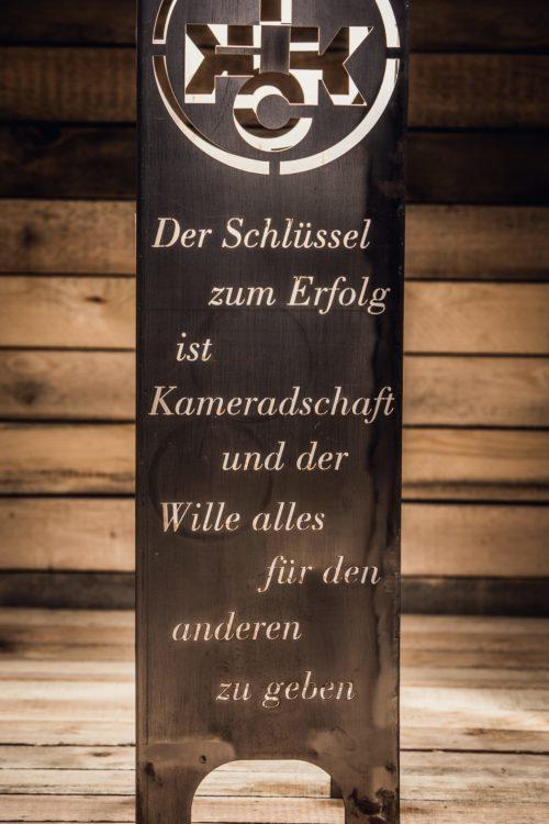 1. FCK Säule Modell Tradition