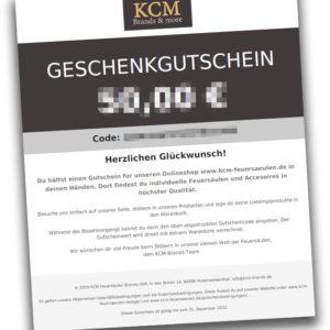 KCM-Brands Geschenkgutschein 199€