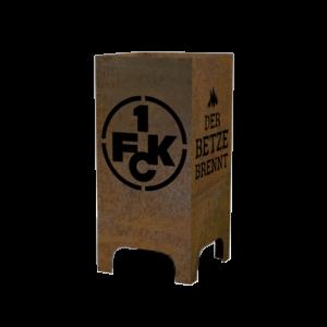 1. FCK Feuerkorb Modell Der Betze brennt